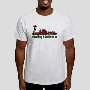 Farm Living is The Life T-Shirt