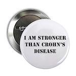Stronger - Crohn's Disease Button