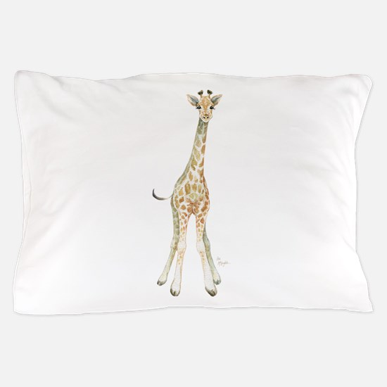 Funny Giraffe Pillow Case