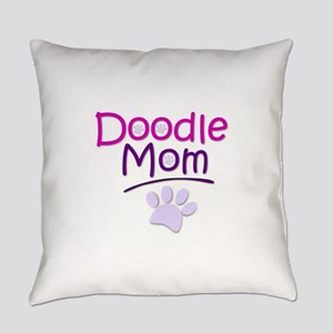 Doodle Mom Everyday Pillow