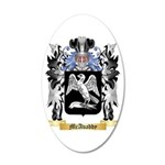 McAvaddy 20x12 Oval Wall Decal