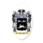 McNiff Oval Car Magnet