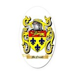 McNicoll Oval Car Magnet