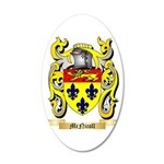 McNicoll 20x12 Oval Wall Decal