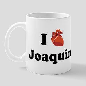 I (Heart) Joaquin Mug