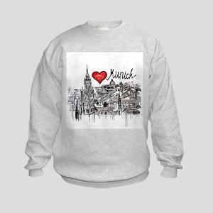 I love Munich Kids Sweatshirt