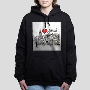 I love Munich Women's Hooded Sweatshirt