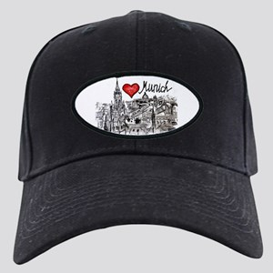 I love Munich Black Cap