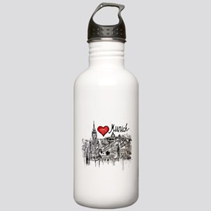 I love Munich Stainless Water Bottle 1.0L
