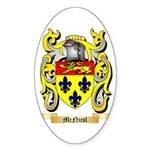 McNicol Sticker (Oval 50 pk)
