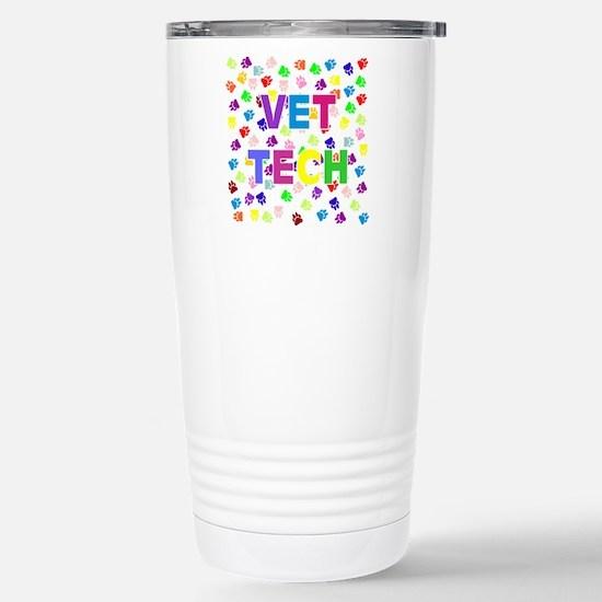 Vet Tech W/Paws Mugs