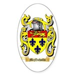 McNicholls Sticker (Oval 50 pk)