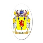 McNey 35x21 Oval Wall Decal