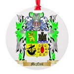 McNeil Round Ornament
