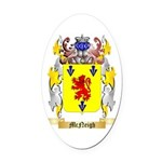 McNeigh Oval Car Magnet