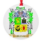 McNeely Round Ornament