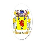 McNee Oval Car Magnet