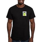 McNayer Men's Fitted T-Shirt (dark)