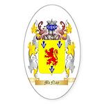 McNay Sticker (Oval 10 pk)