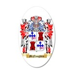McNaughten 35x21 Oval Wall Decal