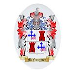 McNaughten Oval Ornament