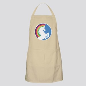 Retro Unicorn and Rainbow Apron