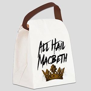All Hail Macbeth Canvas Lunch Bag