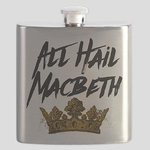 All Hail Macbeth Flask
