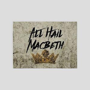 All Hail Macbeth 5'x7'Area Rug