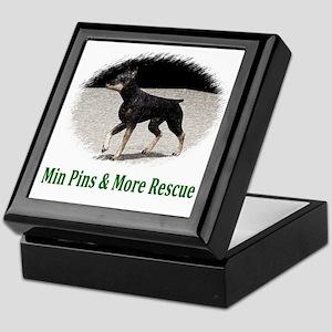 Min Pins & More Rescue Keepsake Box