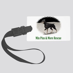 Min Pins & More Rescue Large Luggage Tag