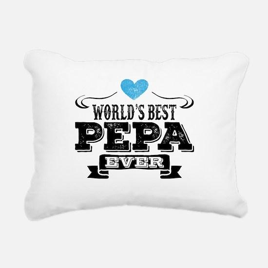 World's Best Pepa Ever Rectangular Canvas Pillow