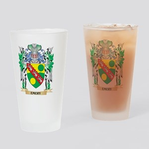 Emery Coat of Arms (Family Crest) Drinking Glass