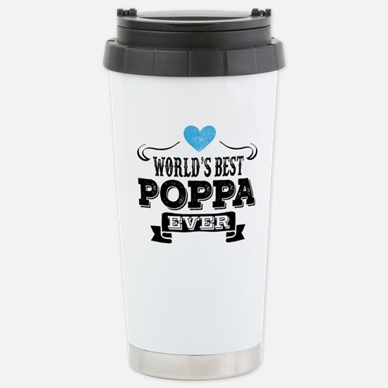 World's Best Poppa Ever Travel Mug
