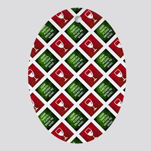 DEAR SANTA... Oval Ornament