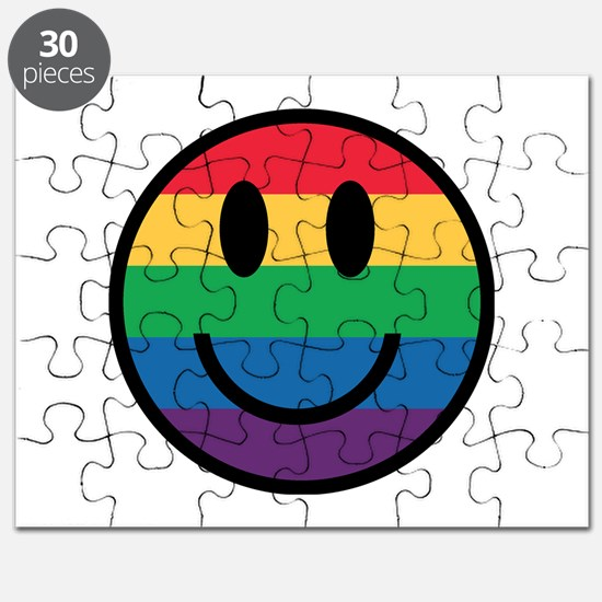 Rainbow Smiley Face Puzzle
