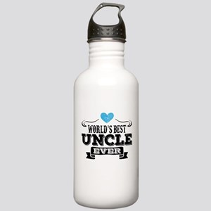 World's Best Uncle Ever Water Bottle