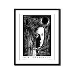 Lovecraft Framed Panel Print