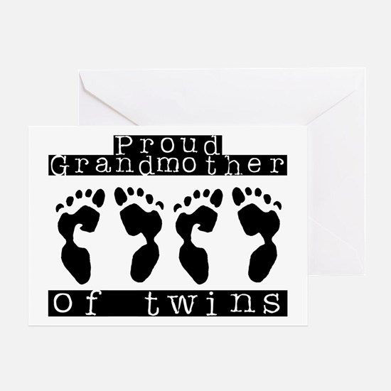 Grandmother of Twins Greeting Card