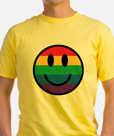 Rainbow Smiley Face T-Shirt