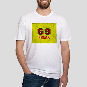 69 FREAK red black yellow vintage T-Shirt