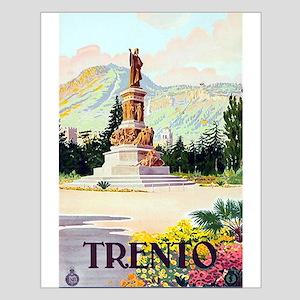 Vinatge Trento Tourism Poster Posters