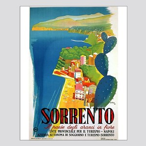 Vintage Sorrento Tourism Poster Posters