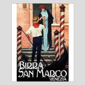 Vintage Italiano Birra Advertisement Posters