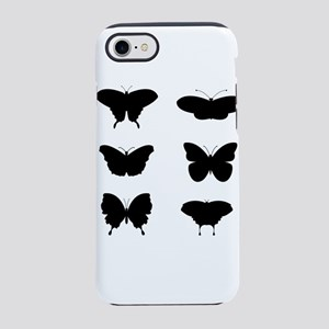 Black and White Butterflies iPhone 8/7 Tough Case
