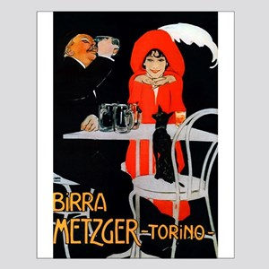 Vintage Advertisement for an Italian Beer Posters