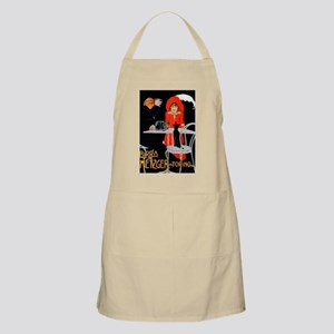 Vintage Advertisement for an Italian Beer Apron