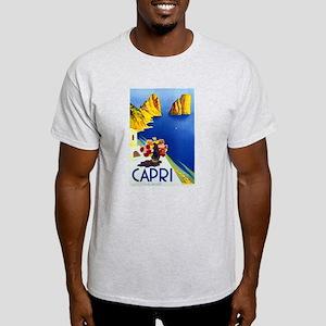 Vinatge Capri Tourism Poster T-Shirt
