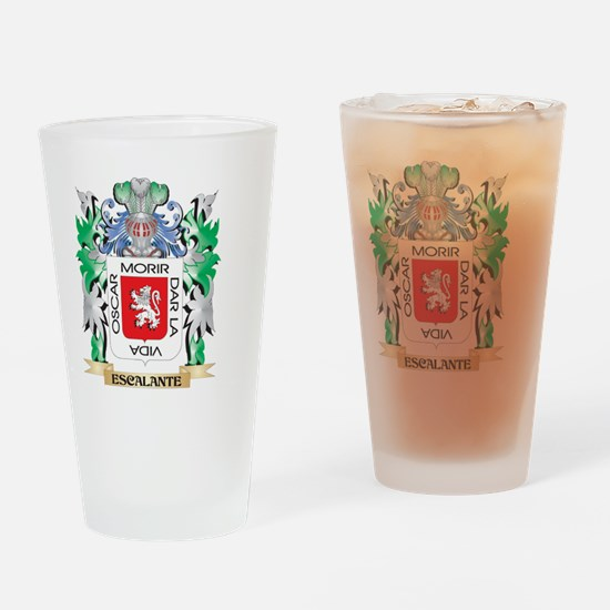 Escalante Coat of Arms (Family Cres Drinking Glass