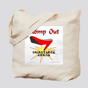 SUBSTANCE ABUSE AWARENESS Tote Bag